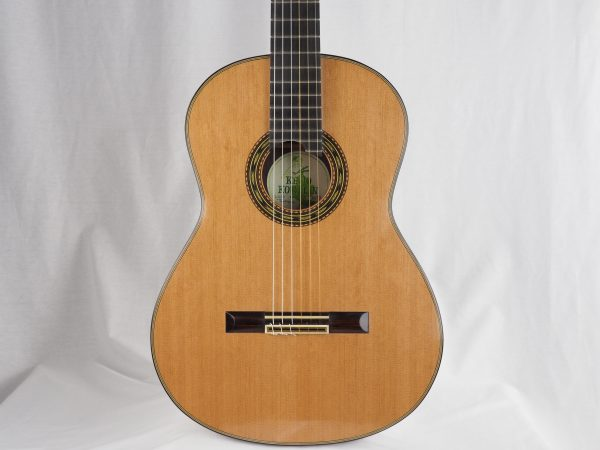 Luthier Keijo Korelin classical guitar double-top No. 93 2017 -01