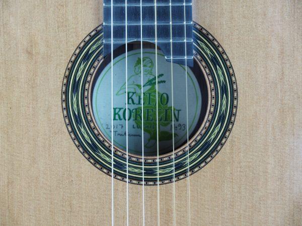 Luthier Keijo Korelin classical guitar double-top No. 93 2017 -02
