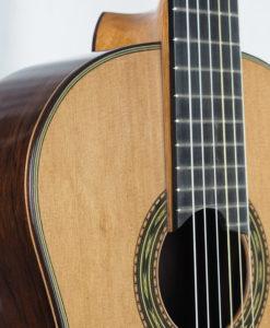 Luthier Keijo Korelin classical guitar double-top No. 93 2017 -05