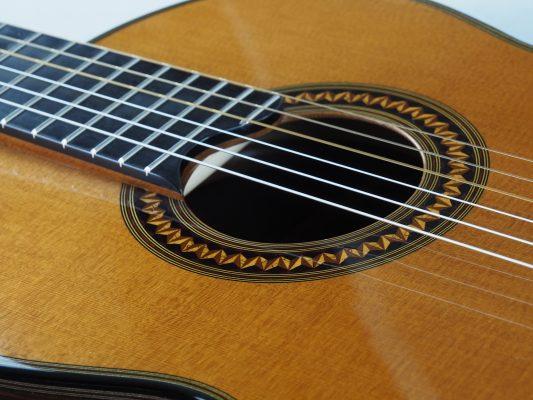 Luthier christian Koehn Concert classical guitar