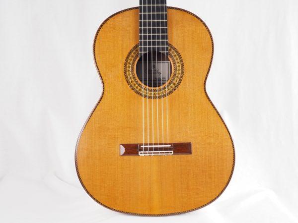 Luthier Dieter Hopf classical guitar Portentosa Evolucion 2016 No. 4990 - 11
