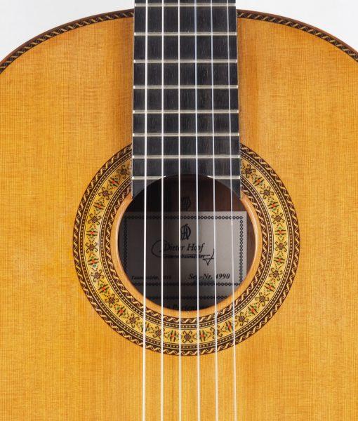 Luthier Dieter Hopf   classical guitar Portentosa Evolucion 2016 No. 4990 – 10