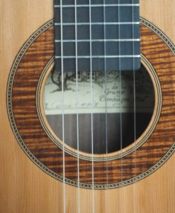 classical guitar du luthier Graham Caldersmith n°101 concert model