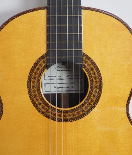 dieter Hopf classical double-table guitar progresso 16PRO016-06