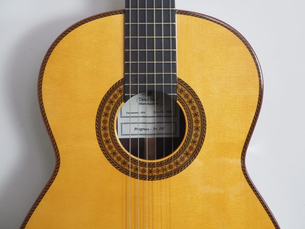 dieter Hopf classical double-top guitar progresso