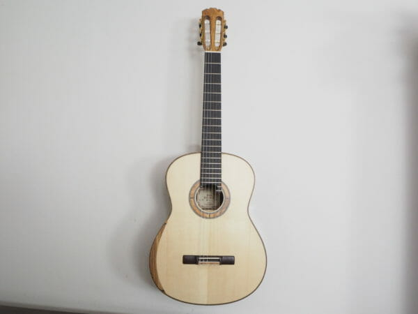 classical guitar luthier Paul Sheridan lattice
