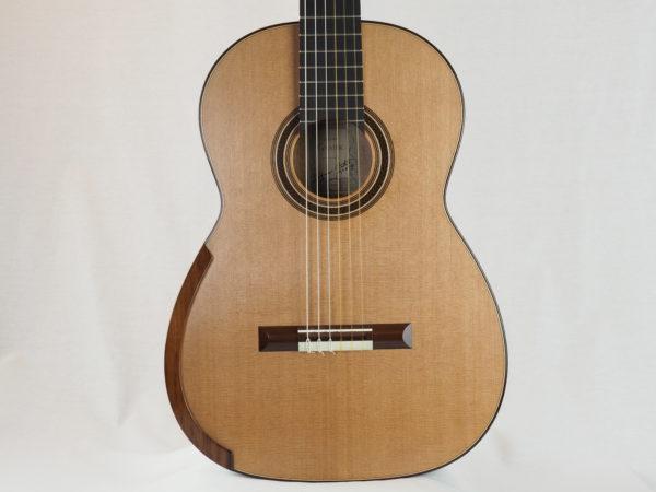 Gnatek Zbigniew classical guitar lattice luthier guitarmaker 17GNA017-09