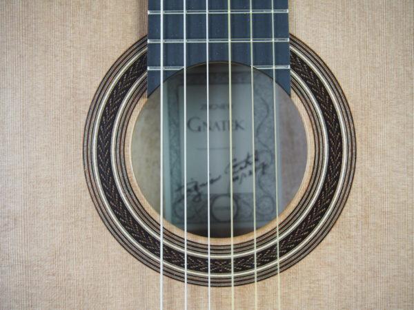 Gnatek Zbigniew classical guitar lattice luthier guitarmaker 17GNA017-08