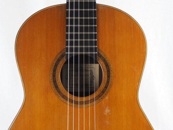 Luthier Daniel Friederich classical guitar No 493-05