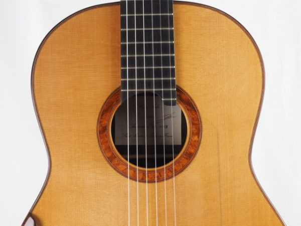 Luthier Regis Sala classical guitar Australe lattice No 2018 37-03