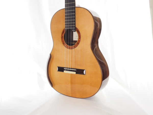 Luthier Regis Sala classical guitar Australe lattice No 2018 37-05