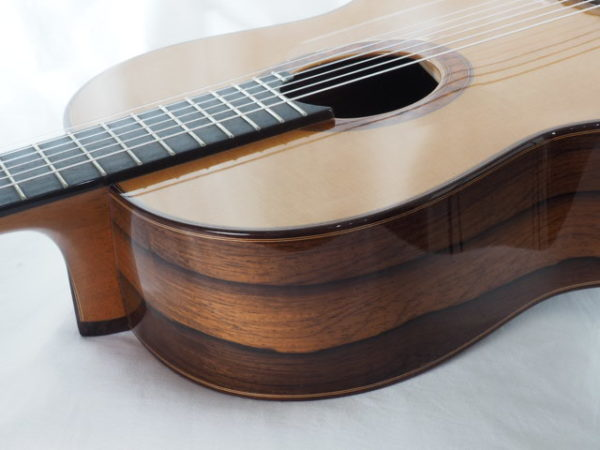 Luthier Regis Sala classical guitar Australe lattice No 2018 37-07