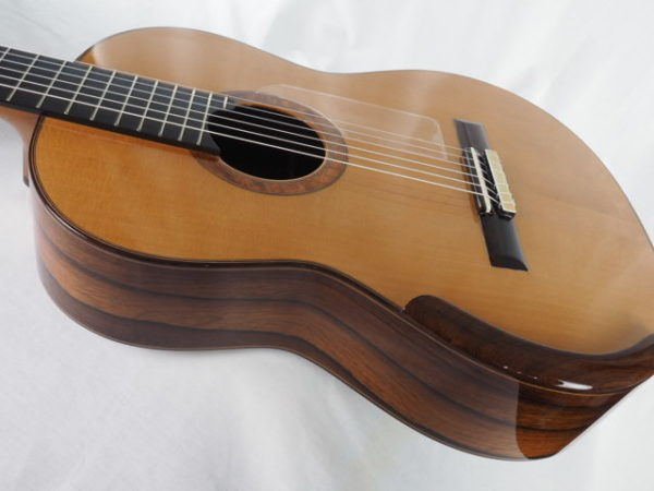 Luthier Regis Sala classical guitar Australe lattice No 2018 37-08