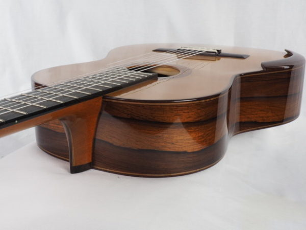 Luthier Regis Sala classical guitar Australe lattice No 2018 37-10