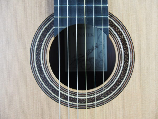 Gnatek Zbigniew classical guitar lattice luthier guitarmaker 17GNA017-13