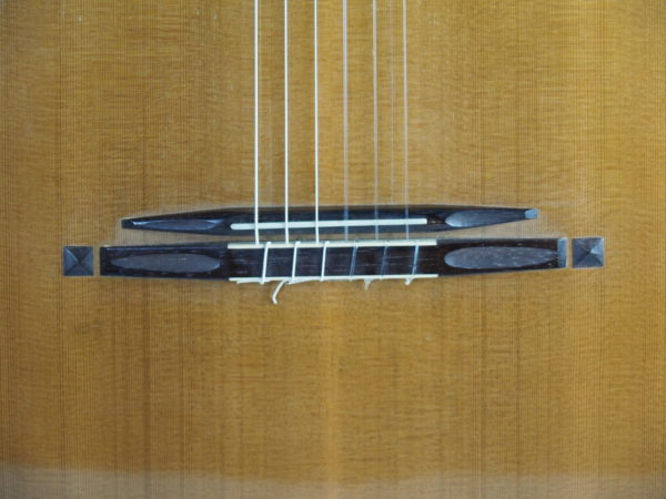 Stephan Schlemper Ebanista classical guitar bridge 6