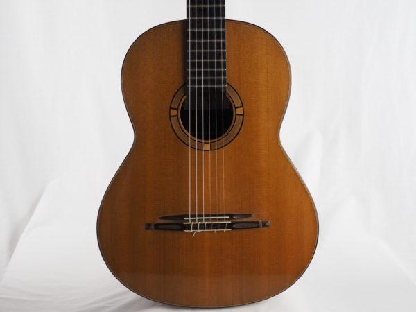 Stephan Schlemper Ebanista classical guitar cedar top 4