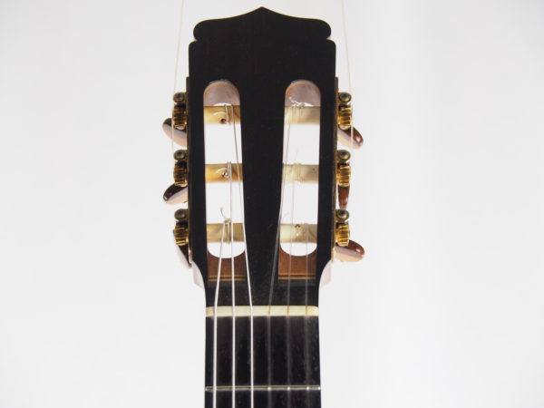 Stephan Schlemper Ebanista classical guitar headstock and fingerboard 3