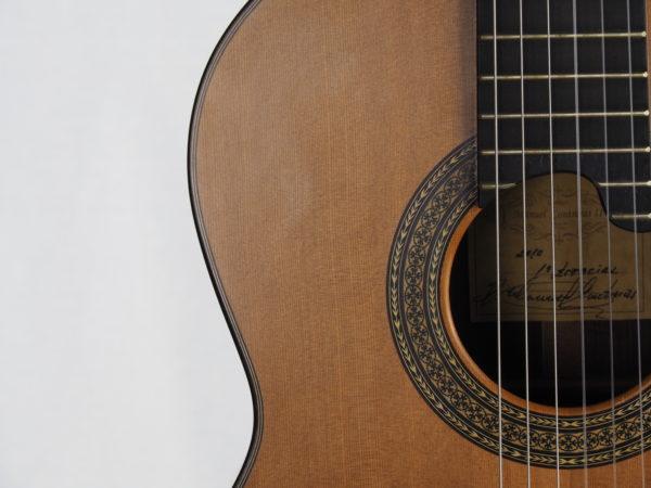 Luthier Manuel Contreras classical guita