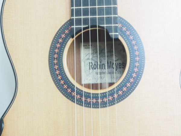 Robin Moyes luthier classical guitar
