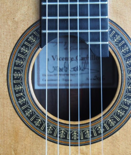 Luthier vicente Carillo classical guitar Herencia 17CAR016-01