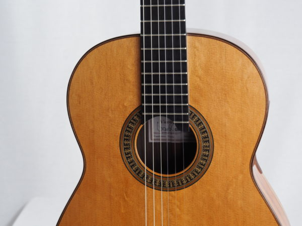 Luthier vicente Carillo classical guitar Herencia