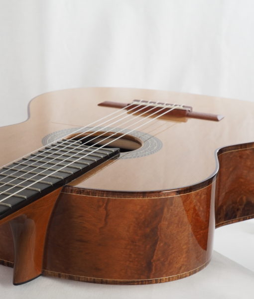 Luthier John Price concert lattice classical guitar