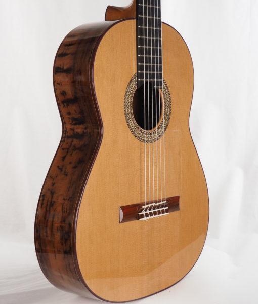Luthier John Price concert lattice classical guitar