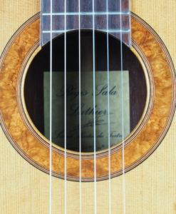 Luthier régis sala classical guitar amboine