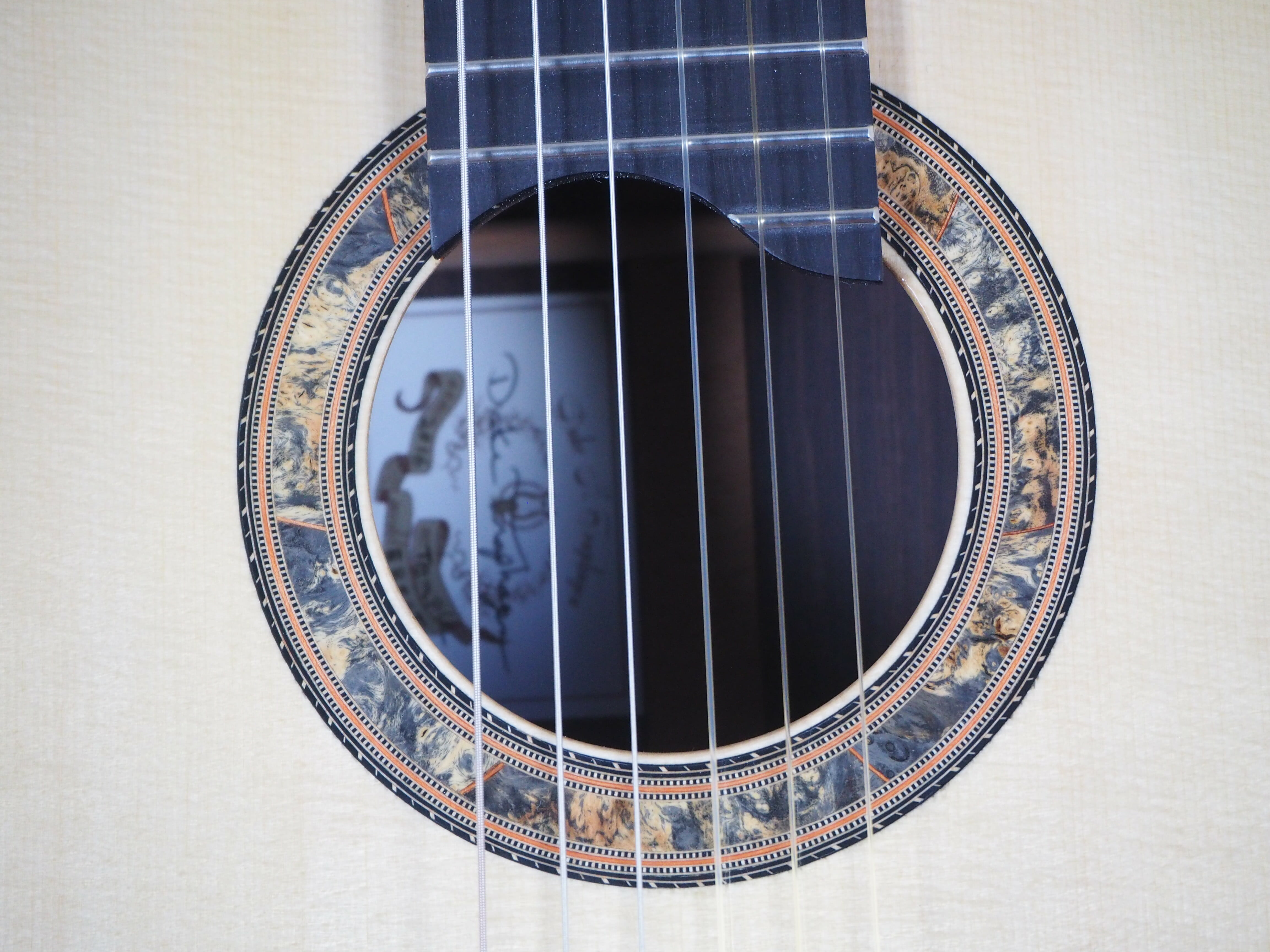 classical guitar luthier dake Traphagen double-top