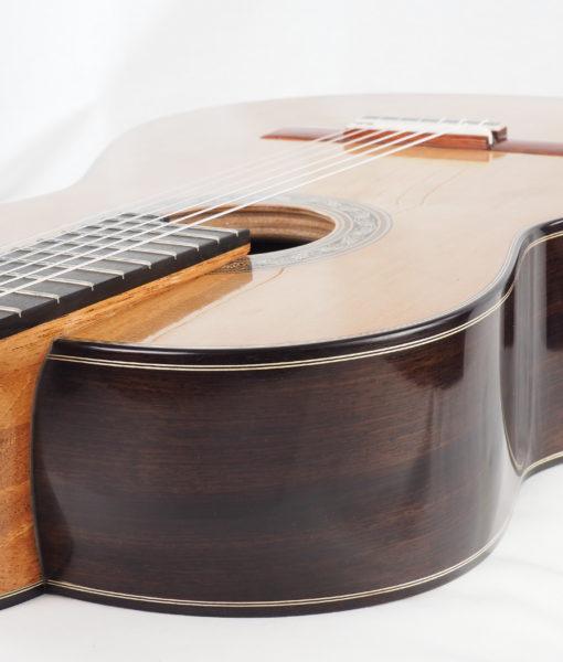 Luthier Charalambos Koumridis classical guitar Lattice model No. 87