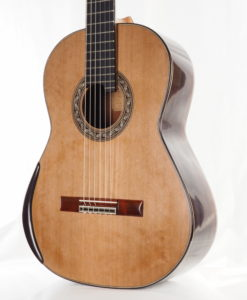 Luthier Charalambos Koumridis classical guitar Lattice model No. 87