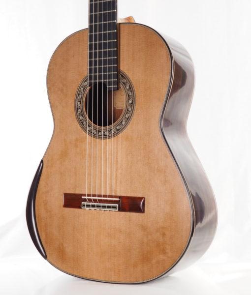 Luthier Charalambos Koumridis classical guitar Lattice model No. 87 17KOU087-03