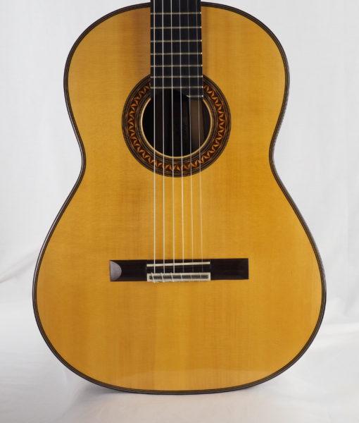 Luthier Christian koehn classical guitar double-top