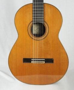 Classical guitar guitarmaker Dominique Delarue