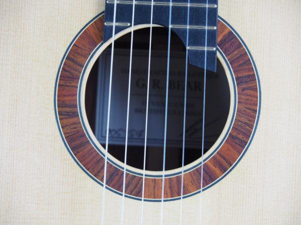 Luthier classical guitar Gypsy Rye Bear lattice 08