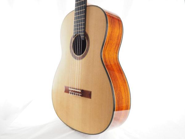 Luthier classical guitar Gypsy Rye Bear lattice 02
