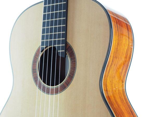 Luthier classical guitar Gypsy Rye Bear lattice 03