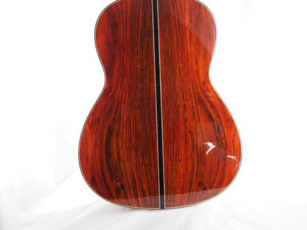 Luthier classical guitar Gypsy Rye Bear lattice 04