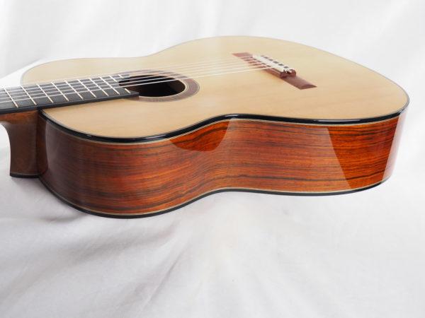 Luthier classical guitar Gypsy Rye Bear lattice 05