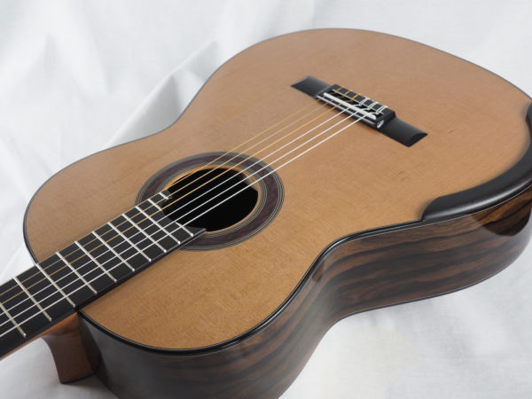 Luthier Kim Lissarrague No 306 lattice classical guitar - 11