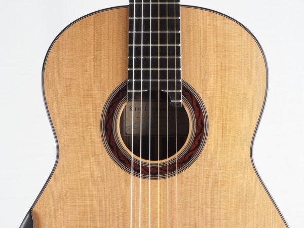 Guitarmaker Kim Lissarrague No 306 lattice classical guitar - 04