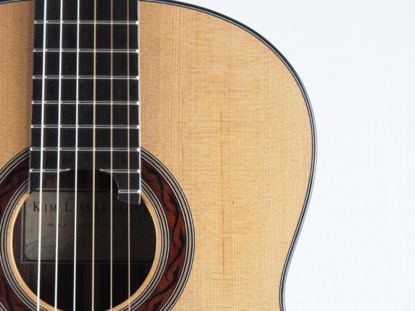 Luthier Kim Lissarrague No 306 lattice classical guitar - 02