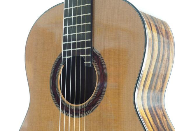Luthier Kim Lissarrague No 306 lattice classical guitar - 10