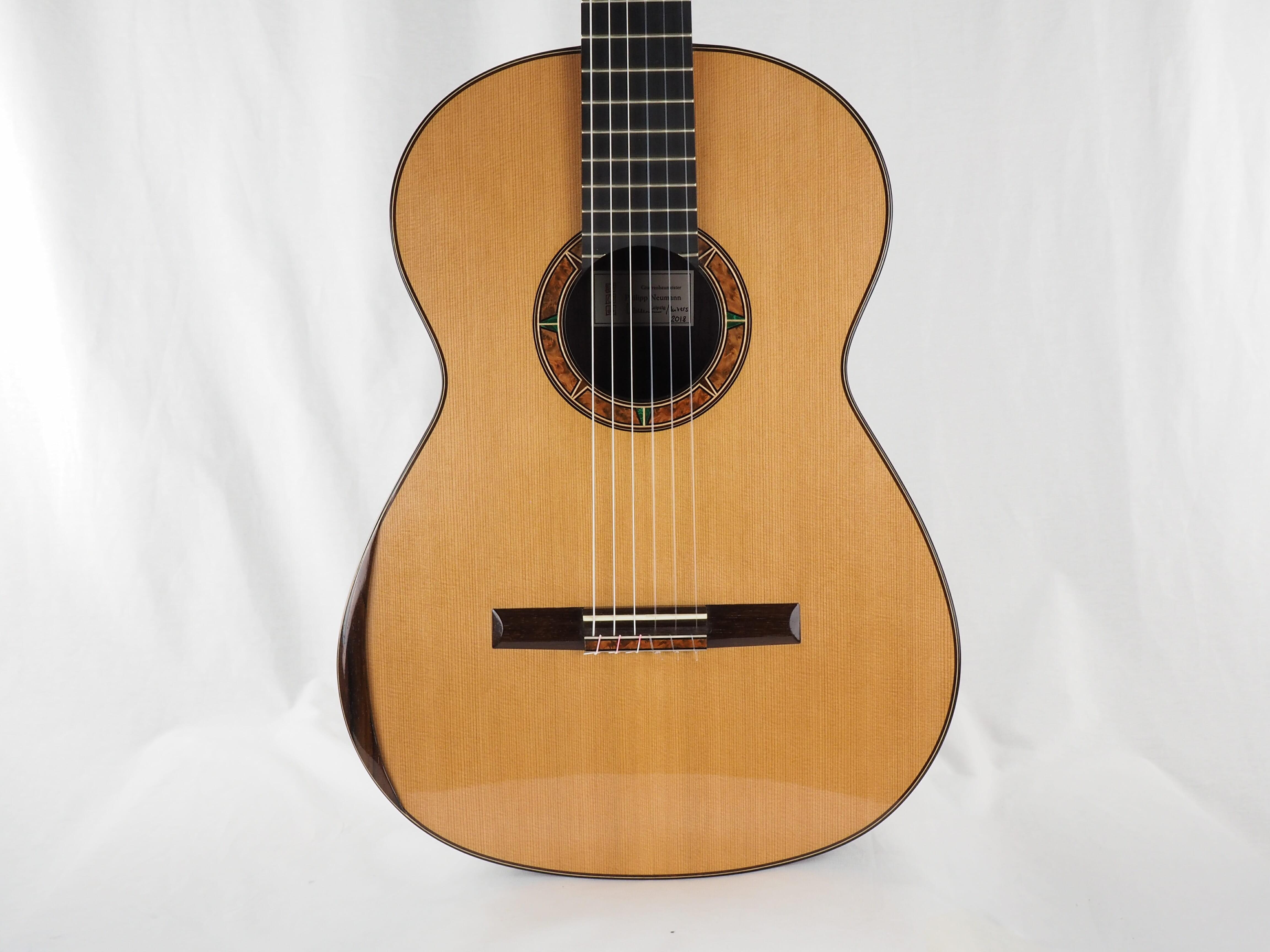 luthier philipp neumann 2018 germany classical concert guitar. Black Bedroom Furniture Sets. Home Design Ideas