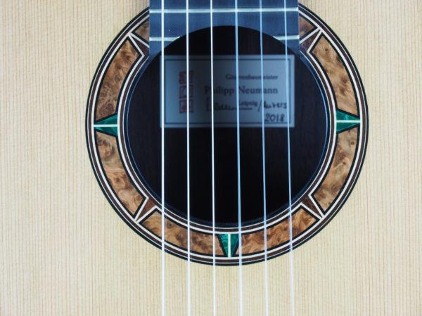 Guitarmaker Philipp Neumann classical guitar 18NEU018-06