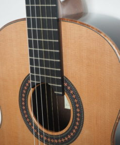 Robin Moyes classical guitar luthier